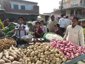 Aga to Jaipur, Fresh Vegetables