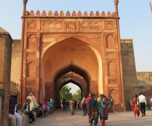 India, Agra, Agra Fort Entrance