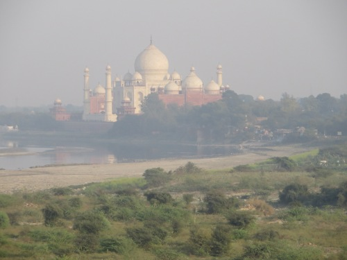 India, Agra, Taj From Agra Fort