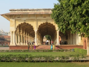 Inida, Agra, Agra Fort Archways