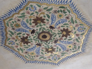 Jaipur, Amber Fort Inlay Ceiling