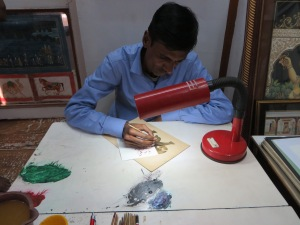 Jaipur, Painting Miniatures