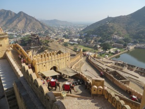 Jaipur, The Surrounds of Amber Fort