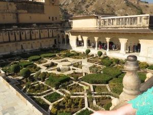 Jaipur, Amber Fort, Gardens