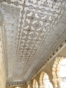 Jaipur, Amber Fort mirrored ceilings
