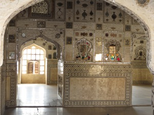 Jaipur, Amber Fort, silver and gems