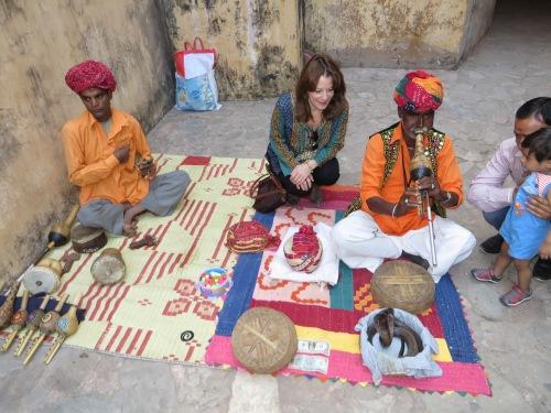 Jaipur, Amber Fort, Snake Charmers