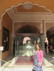 Jaipur City Palace Silver Urn
