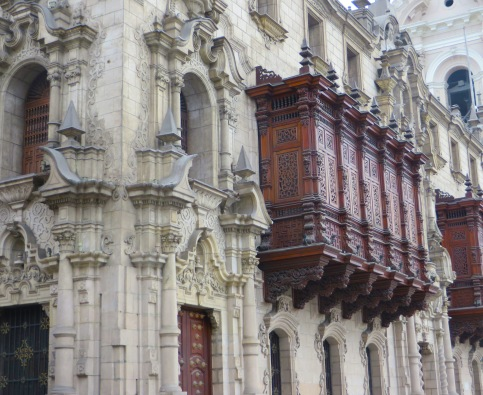 Bl #1 Old LIma architecture