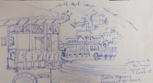 Blog Cusco actual sketch #4 b