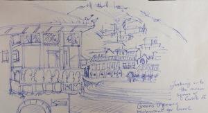 Blog Cusco actual sketch #4 b