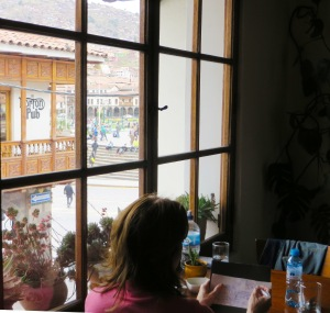 Blog Cusco me drawing #4