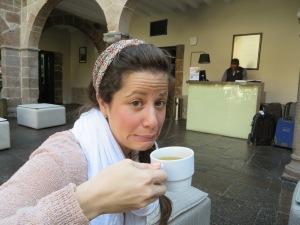 Blog Cusco tea #1