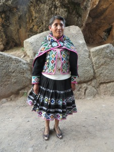 Blog Cusco woman in site