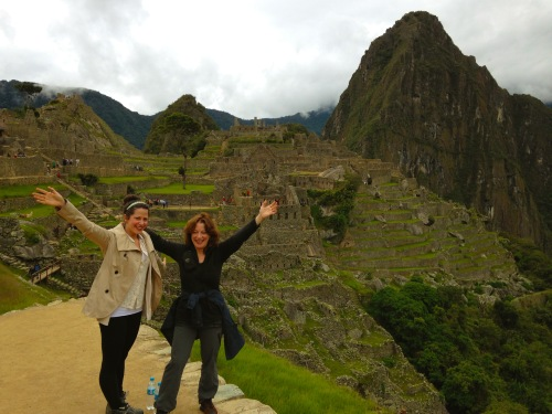 Me and Bec in Machu Pichu#1